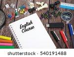 english course | Shutterstock . vector #540191488