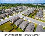 suburb housing community rows... | Shutterstock . vector #540193984