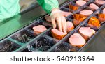 raw meat production | Shutterstock . vector #540213964