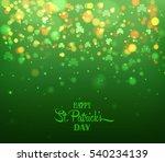 Green Background With Trifoliu...
