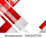 hi tech red corporate abstract... | Shutterstock .eps vector #540235750