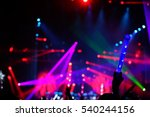 defocused entertainment concert ... | Shutterstock . vector #540244156