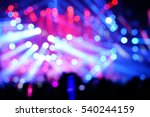 defocused entertainment concert ... | Shutterstock . vector #540244159