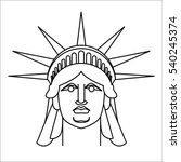Head Of Statue Of Liberty ...