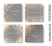 set light backgrounds for...   Shutterstock .eps vector #540254860