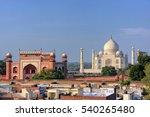 Rooftops Of Taj Ganj...