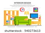 flat style concept set of... | Shutterstock .eps vector #540273613