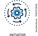 Initiator Vector Icon