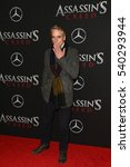 """Small photo of NEW YORK-DEC 13: Jeremy Irons attends the screening of """"Assassin's Creed"""" at AMC Empire on December 13, 2016 in New York City."""