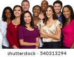 Multiethnic Group Of People