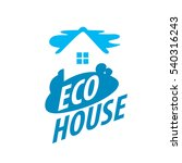 vector logo house | Shutterstock .eps vector #540316243