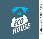 vector logo house | Shutterstock .eps vector #540316459