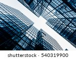 low angle view of business... | Shutterstock . vector #540319900