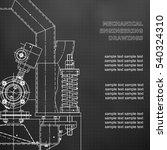 mechanical engineering the... | Shutterstock .eps vector #540324310