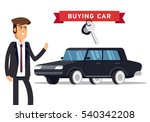 design concept of choice car... | Shutterstock .eps vector #540342208
