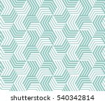 abstract geometric pattern with ... | Shutterstock . vector #540342814