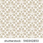 seamless abstract floral... | Shutterstock . vector #540342853