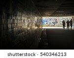 tunnel underground crossing...