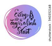 the stock vector.lettering... | Shutterstock .eps vector #540352168