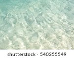 Clear Blue Shallow Tropical...