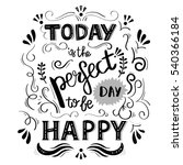 hand drawn illustration with a... | Shutterstock .eps vector #540366184