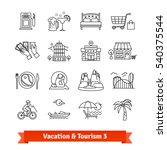 tourism   vacation recovery.... | Shutterstock .eps vector #540375544