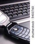 modern cell and laptop | Shutterstock . vector #5403760