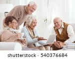 Elderly People Using Computer ...