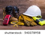 protective equipment and... | Shutterstock . vector #540378958
