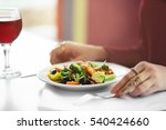 close up view of woman having...   Shutterstock . vector #540424660