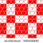 vector. seamless pattern with... | Shutterstock .eps vector #540436840