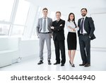 full length confident business... | Shutterstock . vector #540444940