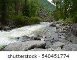 mountain river | Shutterstock . vector #540451774
