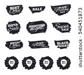 ink brush sale stripes and... | Shutterstock .eps vector #540451873