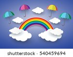 the concept is happy day  full... | Shutterstock .eps vector #540459694