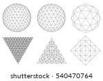 Sacred Geometry. Dodecahedron....