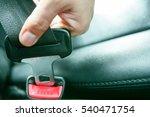 car seat belt car seat belt | Shutterstock . vector #540471754