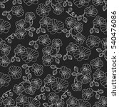 vector seamless pattern with... | Shutterstock .eps vector #540476086