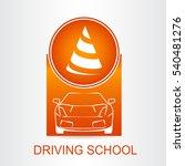 silhouette of the car. logo... | Shutterstock .eps vector #540481276