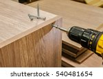 the process of furniture... | Shutterstock . vector #540481654