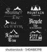 summer tour logotypes... | Shutterstock .eps vector #540488398