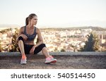 weight loss and slimming... | Shutterstock . vector #540514450