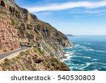 chapman's peak drive is a must... | Shutterstock . vector #540530803