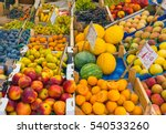 Great Choice Of Fruits Seen At...