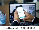 chiang mai  thailand dec 21... | Shutterstock . vector #540533884