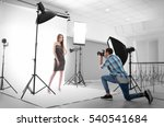 photographer taking picture of  ... | Shutterstock . vector #540541684