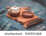 traditional chine tea ceremony... | Shutterstock . vector #540551368