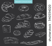 Hand Drawn Bakery Collection O...