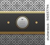 horizontal banner template on... | Shutterstock .eps vector #540557794