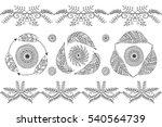 Hand Drawn Boho Style Frames....